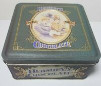 1995 HERSHEY'S Pure Milk Chocolate #4 Collectors Tin Can Vtg Candy Novelty Decor