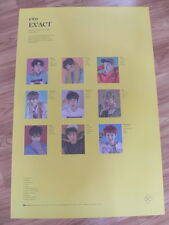 EXO - EX'ACT (YELLOW VERSION) [ORIGINAL POSTER] K-POP *NEW* LUCKY ONE / MONSTER