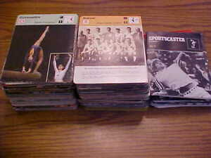 500 +1977-79 SPORTCASTERS VARIOUS SPORTS CARDS + 14 DIGESTS