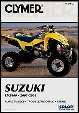 CLYMER SUZUKI LTZ LT-Z 400 LTZ400 SERVICE REPAIR MANUAL FREE SHIP