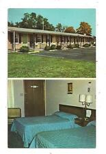 Binns Plaza Motel Rte 147 Barnesville OH Belmont County Postcard 042913
