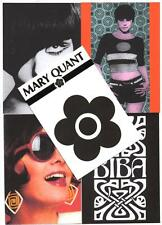 "5 GIANT 7""x 5""  POSTCARDS. Mary Quant, Biba,  mod, pop-art,  60's fashion."
