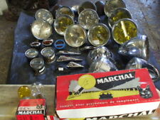 6 VOLT 1920/50s NEW FRENCH HEADLIGHT BULBS, 3 PIN MARCHAL TYPE VINTAGE