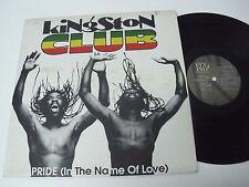 "KINGSTON CLUB -  Pride (In the Name of Love) - ITALIA 12"" Maxi Single - U2"