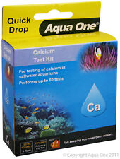 Aqua One Quick Drop Calcium Ca Test Kit Range */- 40ppm for Aquariums & Ponds
