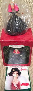 Hallmark Keepsake Ornament 1998 Holiday BARBIE Collector Series New in Box! XMAS