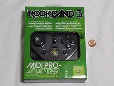 NEW (Read) XBox 360 MIDI Pro Adapter Rock Band 3 Controller Mad Catz Harmonix