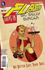 THE FLASH #32 (2014) DC 52 COMICS BOMBSHELL PINUP VARIANT COVER 1ST PRINT NM