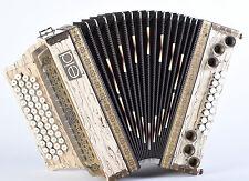 Mieten - Steirische Harmonika < EID > H5 Premium - Exotik-holz G-C-F-B hochglanz
