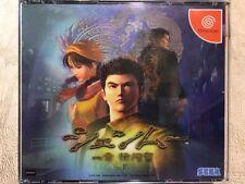 Shenmue For Japanese Sega Dreamcast System  *USA Seller*