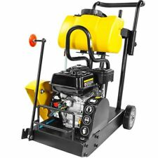 14 Walk Behind Floor Concrete Cement 65hp Engine Gas Cut Off Saw With Wheel
