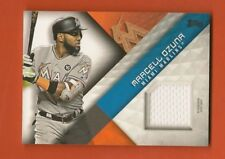 MARCELL OZUNA - 2018 Topps Major League Material Game Used Jersey - Marlins