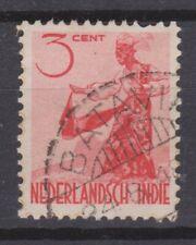 Nederlands Indie 334 TOP CANCEL BATAVIA Netherlands Indies 1948 Inheemse dansers