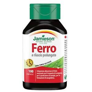 Jamieson Ferro a Rilascio Prolungato 100 cpr Integratore Alimentare