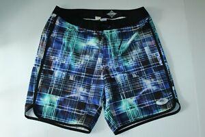 Tommy Bahama Board Shorts Swim Suit Trunks Pacific Power Blue TR912966 34 Waist