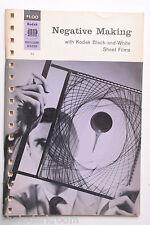 Kodak 1966 F-5 Negative Making B&W Sheet Film Info Guide - English USED B60