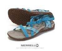 MERRELL TERRAN LATTICE BLUE CLAY Sandal Blue Flip Flop