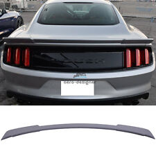 For 2015 2016 2017 Ford Mustang R Style Rear Trunk Spoiler Wing Unpainted ABS