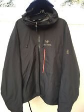 ARCTERYX ARC'TERYX BLACK HOODED GORE TEX PACLITE MENS JACKET SZ XL