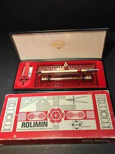 Vintage West Germany Rolimin Drawing Set