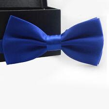 hombre ajustable sólido Clásico MODA NOVEDAD Esmoquin Boda Pajarita corbata