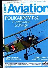Light Aviation Magazine 2013 April