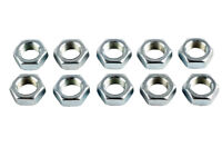 M8 x 1.25mm Right Hand Threaded Half Nuts, Ideal for Rose Joints - Pack of 10