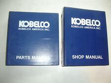 Kobelco Hydraulic Excavator Service SHOP MANUAL PARTS Catalog K907 K907LC-II OEM