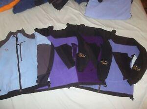 Mountain Hardwear Gore-tex Windstopper Tech Sweater Fleece Jacket Coat USA MADE!