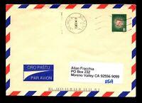 Lithuania 1995 Postal Stationery Used to USA - L11159
