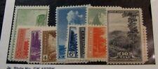 Us Stamp Scott# 740-749 National Parks 1934 Mnh L180