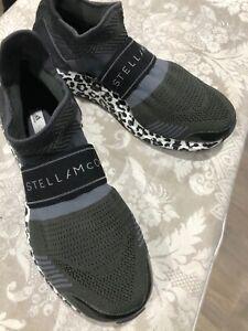 Stella McCartney Adidas Ulra boost black sneakers Size 8