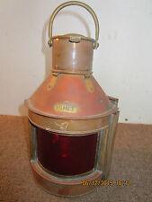 Maritime Salvaged Copper & Brass Port Lantern
