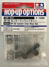 TAMIYA 53931 df-03 centro one-way Set (df03/df03ra) Nuovo con imballo