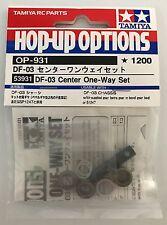 Tamiya 53931 DF-03 Center One-Way Set (DF03/DF03Ra) NIP