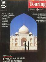 QUI TOURING FEBBRAIO 1995 India Giordania Cornovaglia Toledo