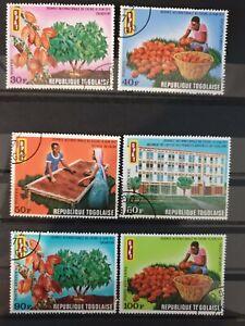 Togo 1971 International Cocoa Day. 6 stamp set CTO
