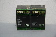 HIFLO FILTRO - 2 Filtres a Huile Moto HF155 - KTM 125 Duke - HUSABERG FC450