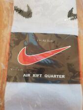 Nike Air Rift Quarter Socks - WHITE - Fits All Size
