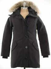Canada Goose NWT Rossclair Parka Jacket Size M In Solid Black $1,050