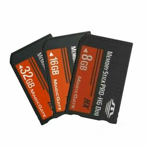 1* 8/16/32GB Memory Stick Fast Flash Card MagicGate For SONY PSP 3000/2000/1000