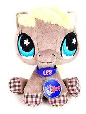 (5455) Littlest Pet Shop LPS Plush Brown Cat Kitten Necklace  Multicolor