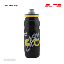 NEW Elite FLY TOUR DE FRANCE Lightweight Water Bottle BPA Free 750ml BLACK
