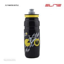 NEW Elite FLY TOUR DE FRANCE Lightweight Water Bottle BPA Free 750ml BLACK