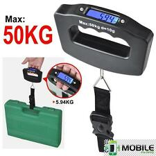 50kg/10g Portable Digital Fish Hanging Luggage Weight Electronic Hook Scale LCD