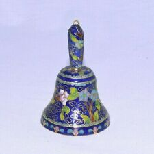 Blue Chintz Solid Porcelain Bell