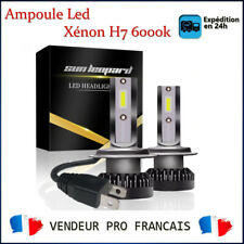 2x Ampoule H7 LED 6000K Xénon Blanc Voiture Feux Phare Lampe - TOYOTA