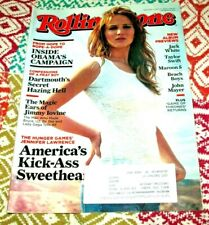 JENNIFER LAWRENCE Rolling Stone April 2012 1154 Jack White Taylor Swift Mayer