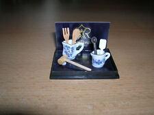 REUTTER PORZELLAN AIDES / cuisine ustensile maison de poupée 1:12 art. 1.331/8