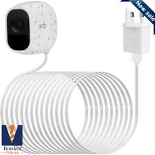 Security Camera 3.0 Power Adapter Arlo Pro Outdoor Waterproof 5m Cable White